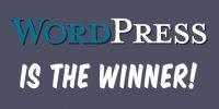WordPress is the Winner!