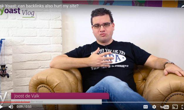 Yoast: can Backlinks Hurt my rankings?